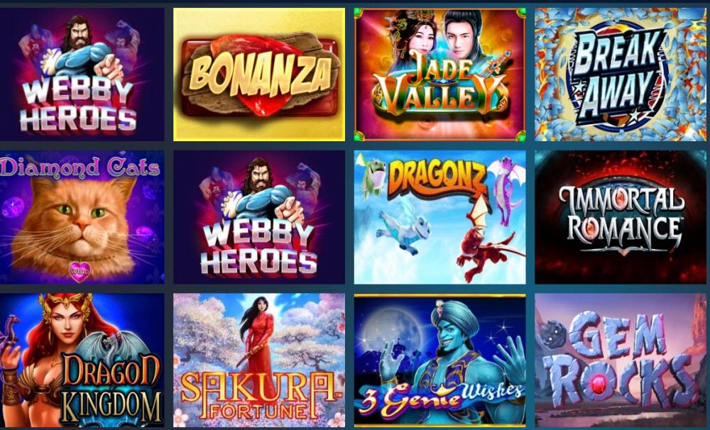 Webbyslot casino Games